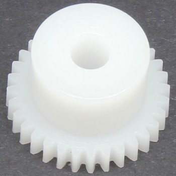 0.5 Mod Spur Gear,  32 T, 4mm Bore