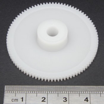 0.5 Mod Spur Gear,  90 T, 6mm Bore
