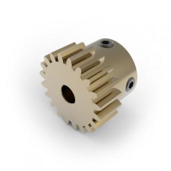 0.8 Mod Spur Gear,  20 T, 4mm Bore