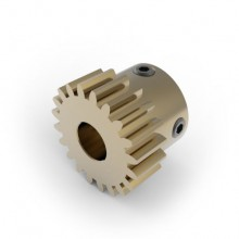 0.8 Mod Spur Gear,  20 T, 6mm Bore