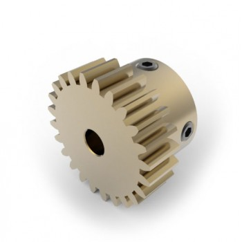 0.8 Mod Spur Gear,  24 T, 4mm Bore
