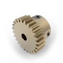 0.8 Mod Spur Gear,  24 T, 8mm Bore