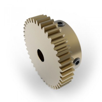 0.8 Mod Spur Gear,  40 T, 6mm Bore