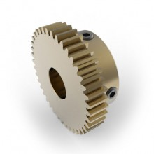 0.8 Mod Spur Gear,  40 T, 10mm Bore