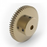 0.8 Mod Spur Gear,  60 T, 6mm Bore