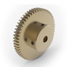 0.8 Mod Spur Gear,  60 T, 6mm Bore