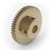 0.8 Mod Spur Gear,  60 T, 10mm Bore