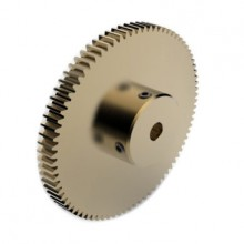 0.8 Mod Spur Gear,  80 T, 6mm Bore
