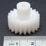 1.0 Mod Spur Gear,  20 T, 4mm Bore