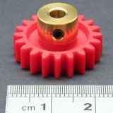 1.0 Mod Spur Gear,  20 T, 4mm Bore and Setscrew