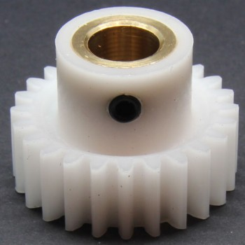 1.0 Mod Spur Gear,  24 T, 8mm Bore and Setscrew