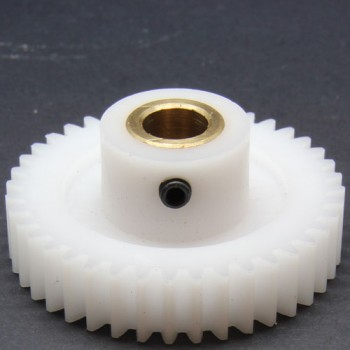 1.0 Mod Spur Gear,  40 T, 8mm Bore and Setscrew