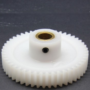 1.0 Mod Spur Gear,  48 T, 8mm Bore and Setscrew