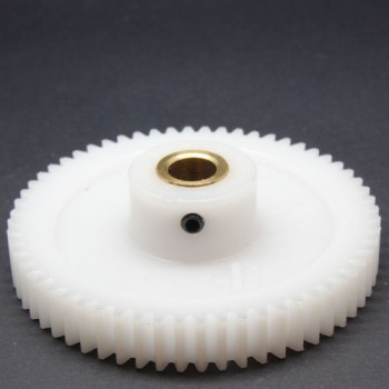 1.0 Mod Spur Gear,  60 T, 8mm Bore and Setscrew