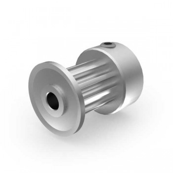 Aluminium 3mm HTD Pulley, 10T, 3mm Bore