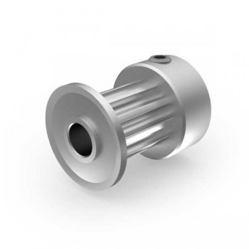 Aluminium 3mm HTD Pulley, 10T, 4mm Bore