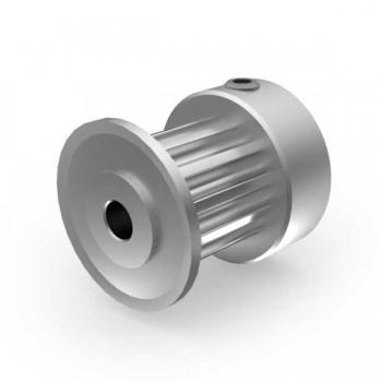 Aluminium 3mm HTD Pulley, 12T, 3mm Bore