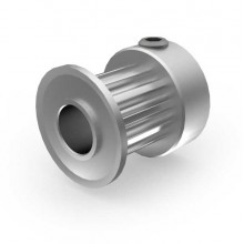 Aluminium 3mm HTD Pulley, 12T, 6mm Bore