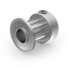 Aluminium 3mm HTD Pulley, 12T, 6mm Bore