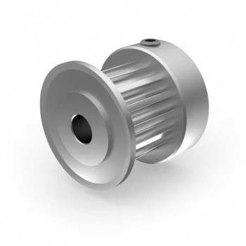 Aluminium 3mm HTD Pulley, 15T, 4mm Bore