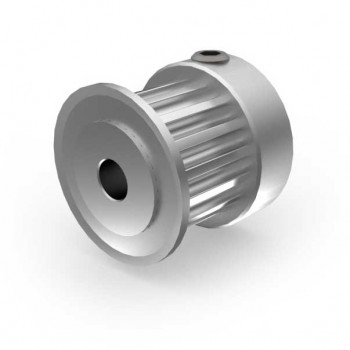 Aluminium 3mm HTD Pulley, 16T, 4mm Bore