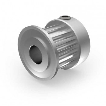 Aluminium 3mm HTD Pulley, 15T, 6mm Bore