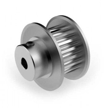 Aluminium 3mm HTD Pulley, 20T, 4mm Bore