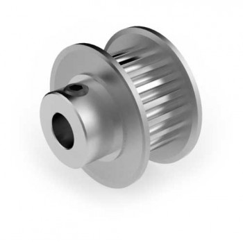 Aluminium 3mm HTD Pulley, 20T, 6mm Bore