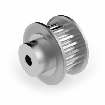 Aluminium 3mm HTD Pulley, 22T, 4mm Bore