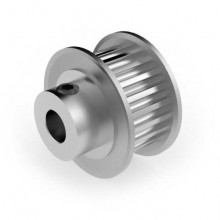 Aluminium 3mm HTD Pulley, 22T, 6mm Bore