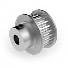 Aluminium 3mm HTD Pulley, 24T, 6mm Bore
