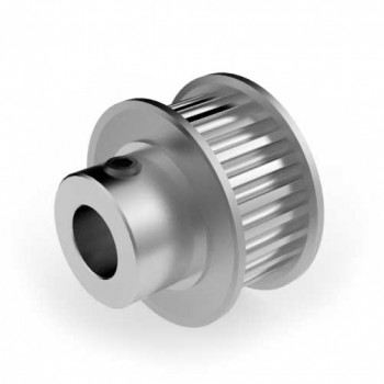 Aluminium 3mm HTD Pulley, 24T, 8mm Bore