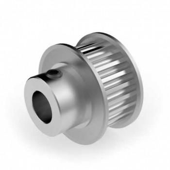 Aluminium 3mm HTD Pulley, 24T, 8mm Bore