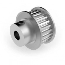 Aluminium 3mm HTD Pulley, 25T, 6mm Bore