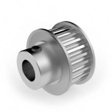 Aluminium 3mm HTD Pulley, 25T, 8mm Bore