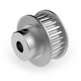Aluminium 3mm HTD Pulley, 28T, 6mm Bore