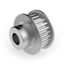 Aluminium 3mm HTD Pulley, 28T, 8mm Bore