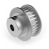 Aluminium 3mm HTD Pulley, 30T, 6mm Bore