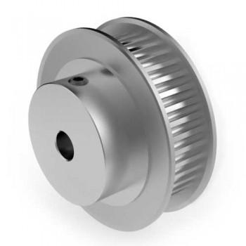 Aluminium 3mm HTD Pulley, 40T, 6mm Bore