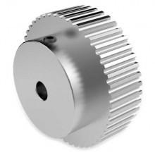 Aluminium 3mm HTD Pulley, 48T, 6mm Bore