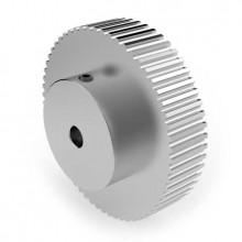 Aluminium 3mm HTD Pulley, 60T, 6mm Bore