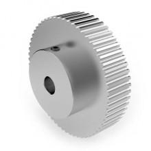 Aluminium 3mm HTD Pulley, 60T, 8mm Bore
