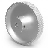 Aluminium 3mm HTD Pulley, 72T, 8mm Bore