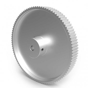 Aluminium 3mm HTD Pulley, 100T, 6mm Bore