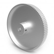 Aluminium 3mm HTD Pulley, 100T, 8mm Bore