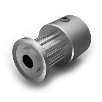Aluminium MXL Pulley, 12T, 3mm Bore