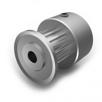 Aluminium MXL Pulley, 15T, 5mm Bore