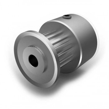 Aluminium MXL Pulley, 16T, 3mm Bore