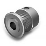 Aluminium MXL Pulley, 18T, 5mm Bore