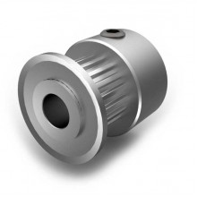 Aluminium MXL Pulley, 18T, 6mm Bore